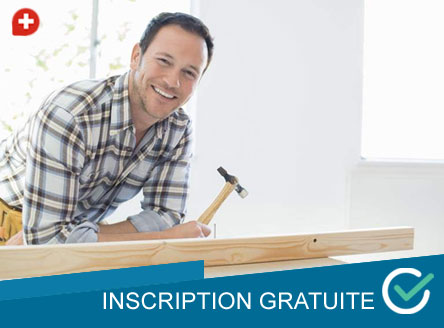 Inscription monteur meuble